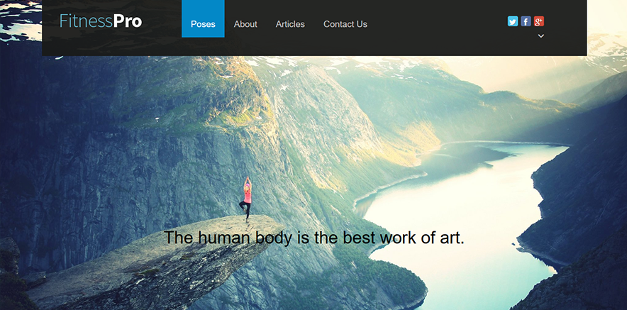 Full Width Background Image for Business WordPress Theme