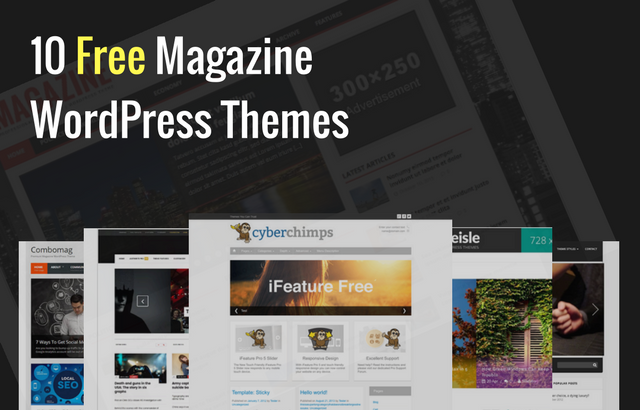 10 Best Free Magazine WordPress Themes
