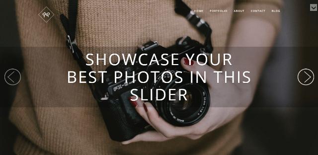 Roko Photo WordPress Theme