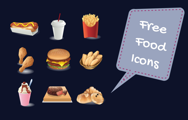 Design Resources – Free Food Icons for Commercial Use