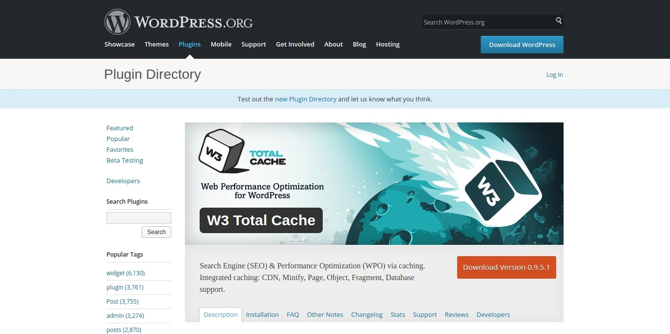 Best WordPress Cache Plugins to improve site speed