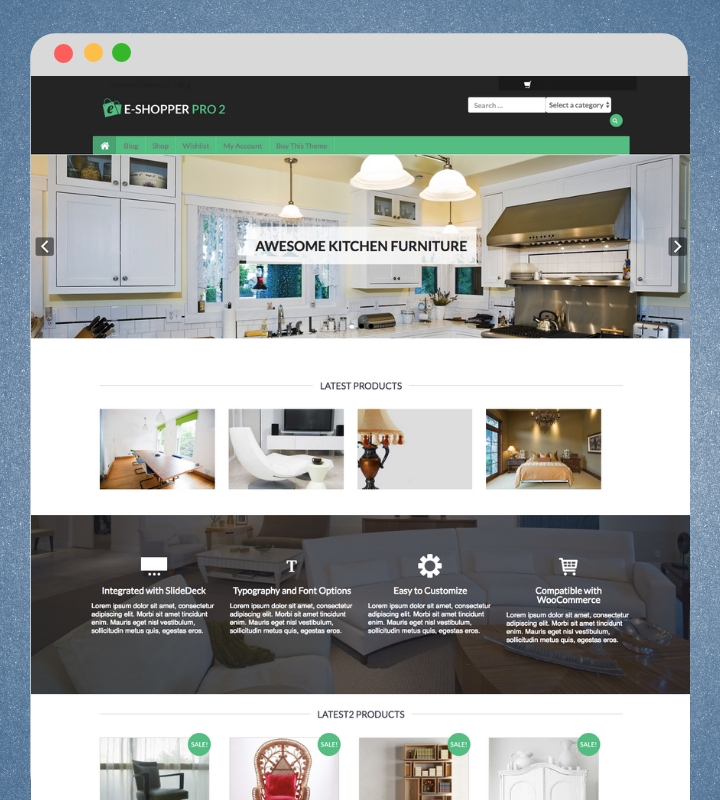eShopper Pro 2 WordPress Theme