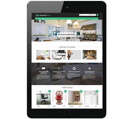 WordPress eCommerce Theme: e-Shopper Pro2 by CyberChimps