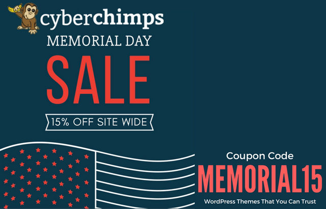 Memorial Day 2017 Offers – WordPress Themes & Plugins