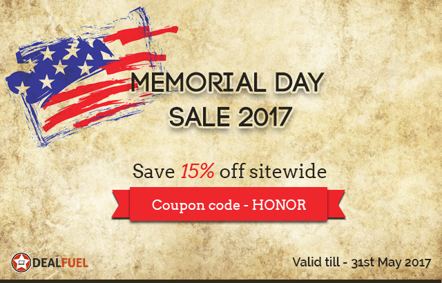 Dealfuel Memorial Day Sale