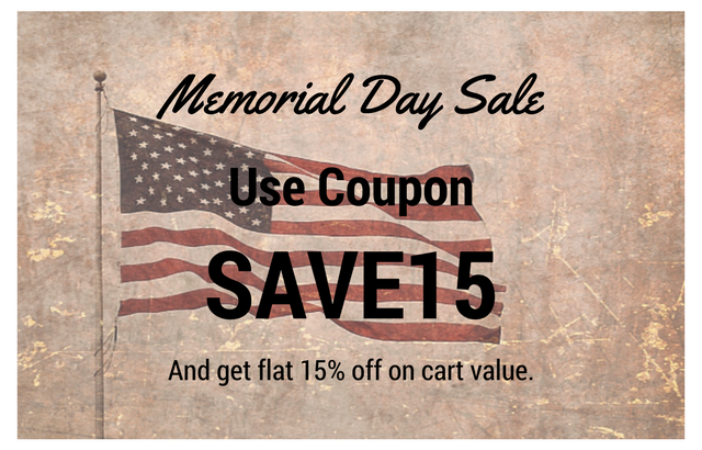Visual Hierarchy Memorial Day Sale