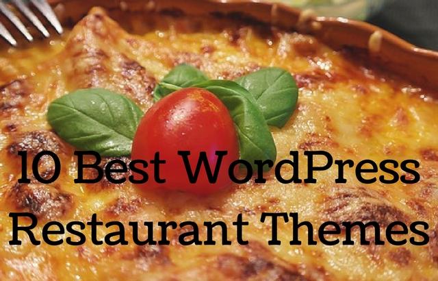 10 Best WordPress Restaurant Themes