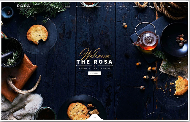 Bettaso WordPress Restaurant Theme