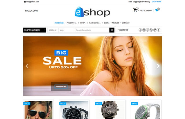 E-Shop WordPress Theme