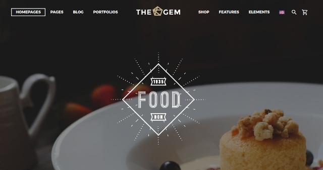 TheGem Restaurant WP Theme