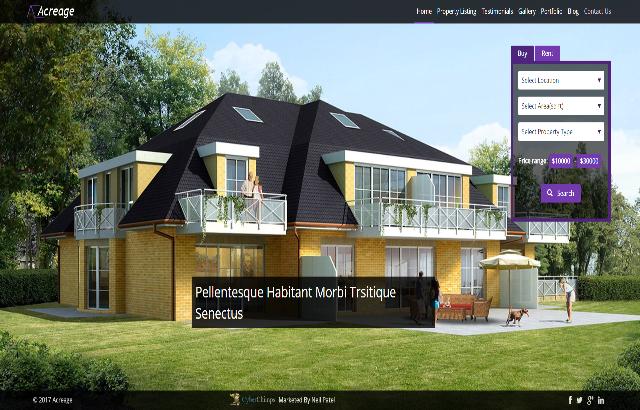 Acreage Real Estate Theme