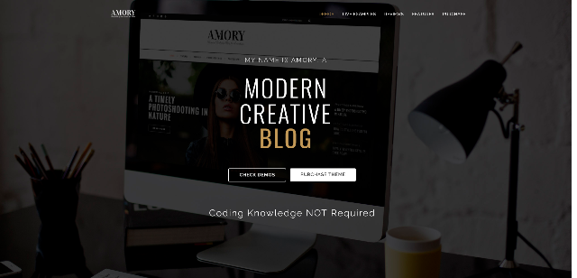 Amory eCommerce WordPress Theme