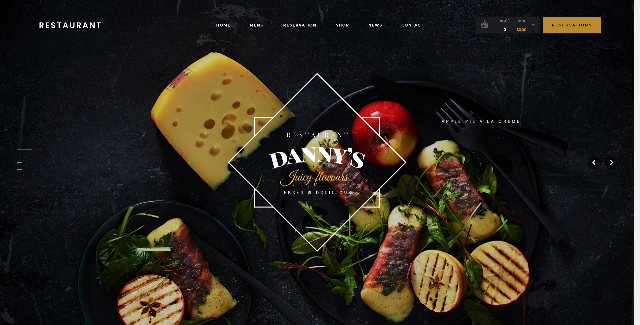 Danny's Food WordPress Theme
