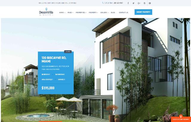 Dreamvilla WordPress Theme