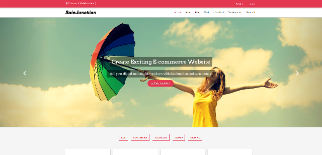 Sale Junction eCommerce WordPress Theme