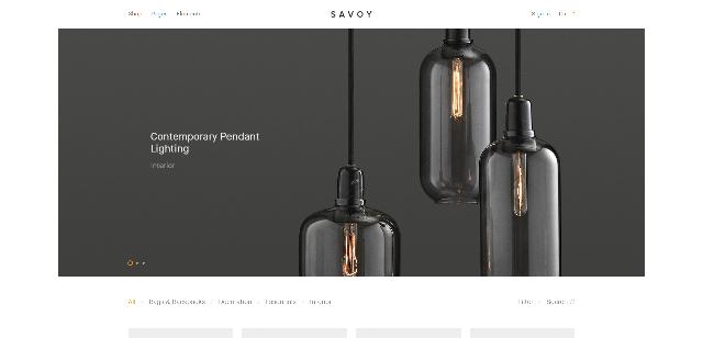 Savoy eCommerce WordPress Theme