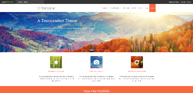 Transcend eCommerce WordPress Theme