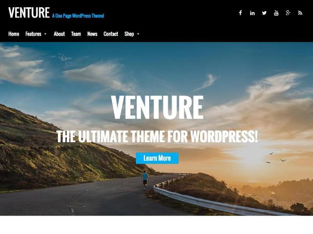 Venture Lite WP Theme