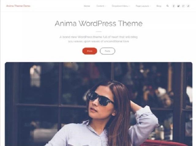 Anima Business WordPress theme