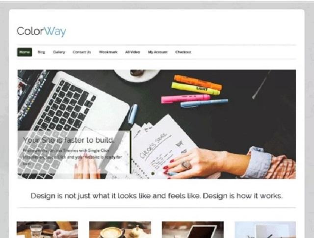 Colorway Business WordPress Theme