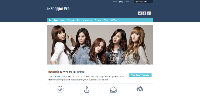 e-Shopper Pro WordPress Theme