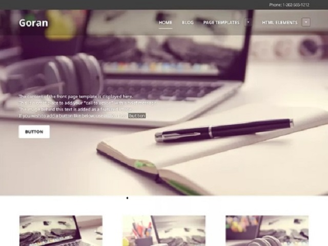 Goran WordPress Small Business Theme