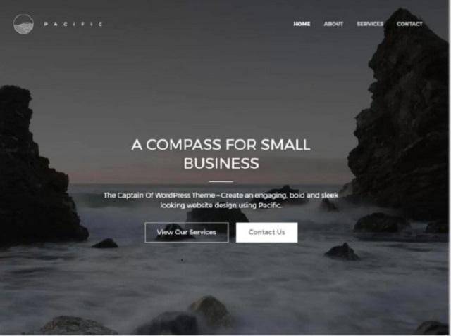 Pacific WordPress Theme