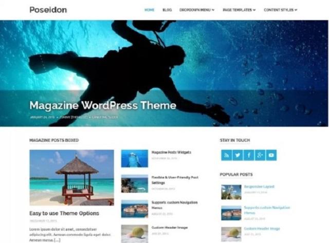 Poseidon WP Theme