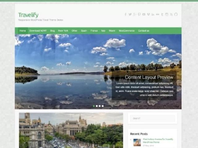 Travelify WordPress Small Business Theme