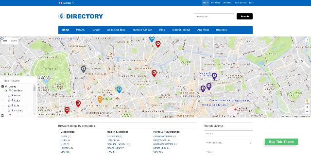 Directory WordPress theme