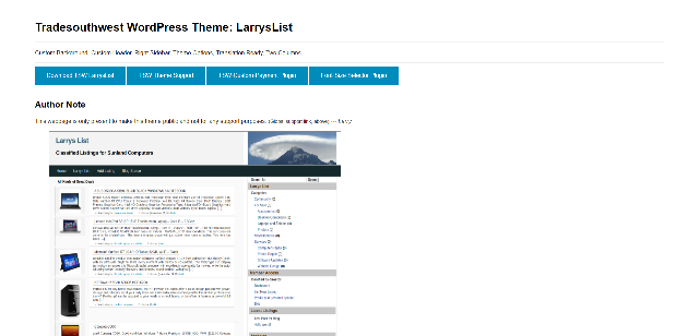 LarrysList WprdPress theme