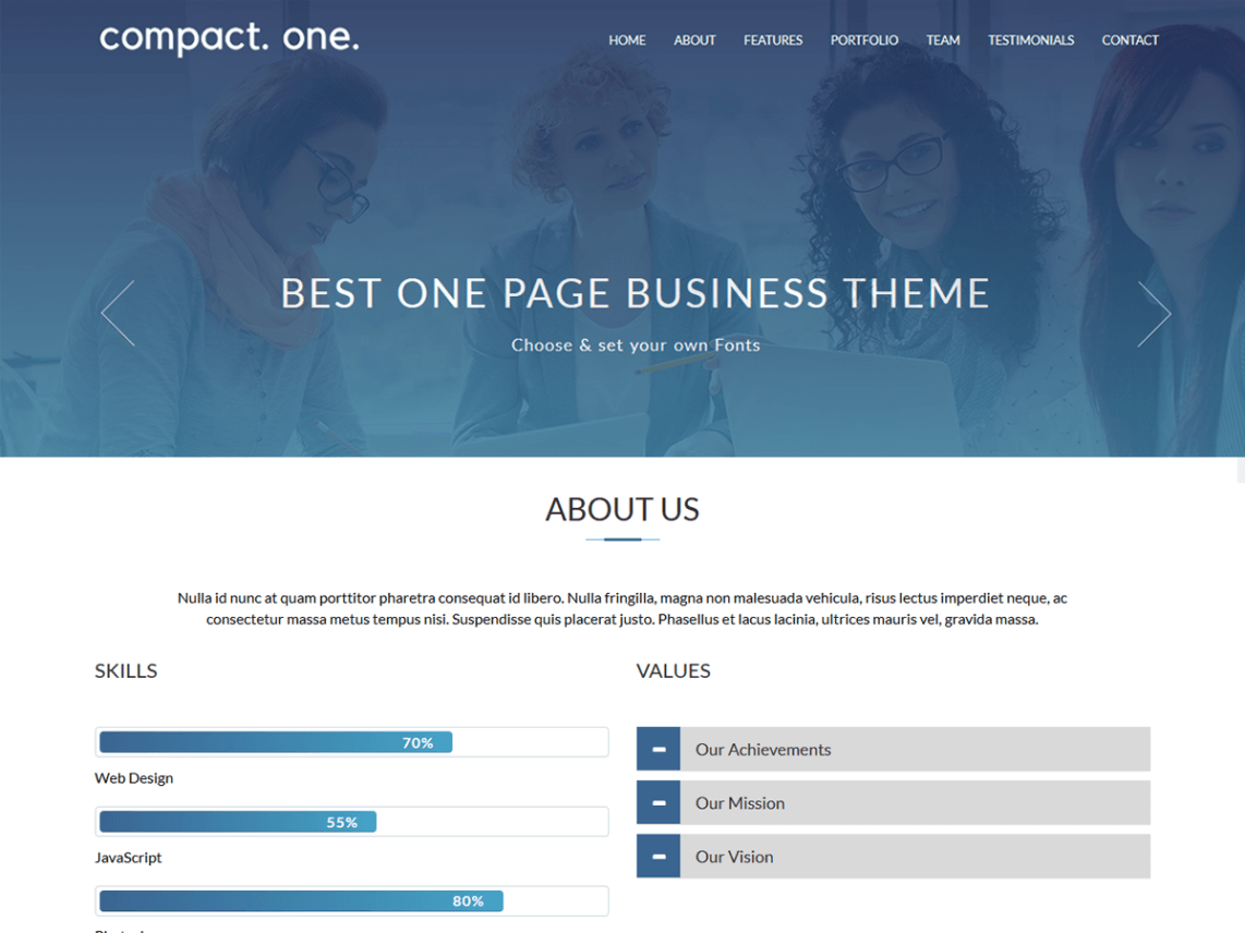 best responsive free wordpress themes with support download now