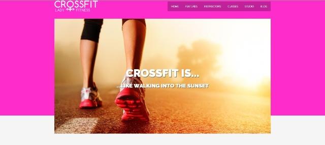 Crossfit multipurpose WordPress fitness theme