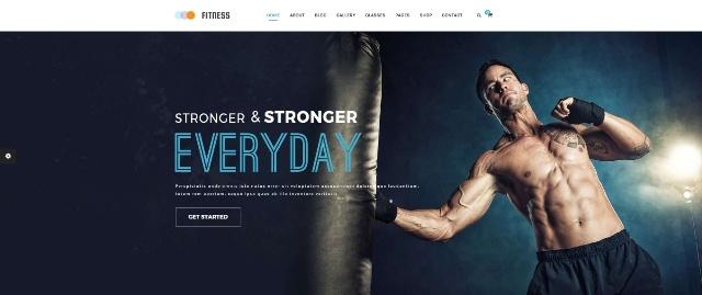 Fitness versatile WordPress fitness theme