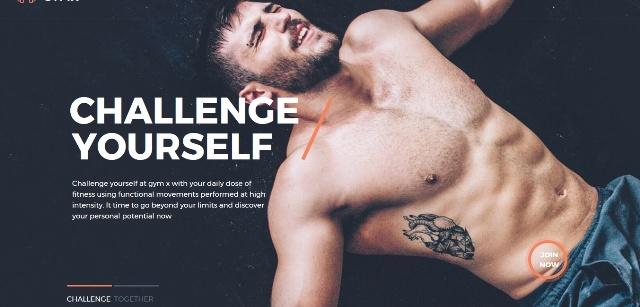 Gym X WordPress fitness theme