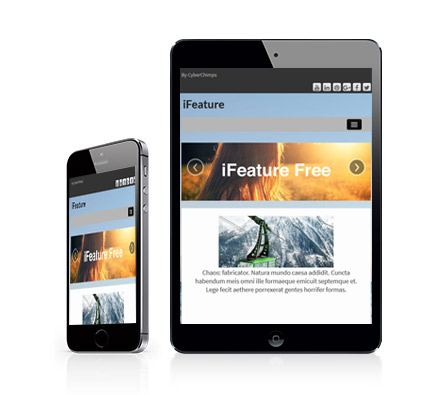 iFeature 5 Free Responsive WordPress Magazine Theme