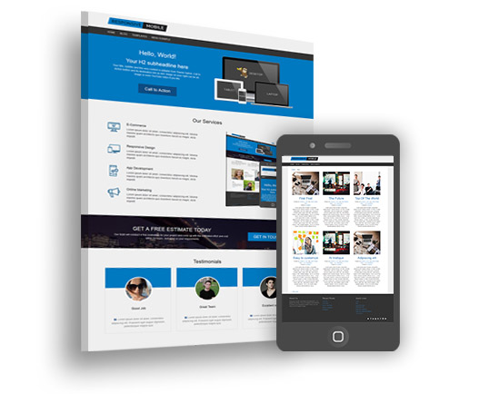 Responsive II - Free Mobile Friendly WordPress Theme