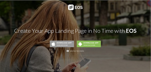 The app landing page coming soon WordPress theme