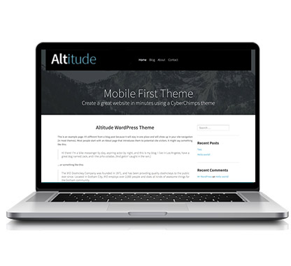 Altitude Blog WordPress Theme