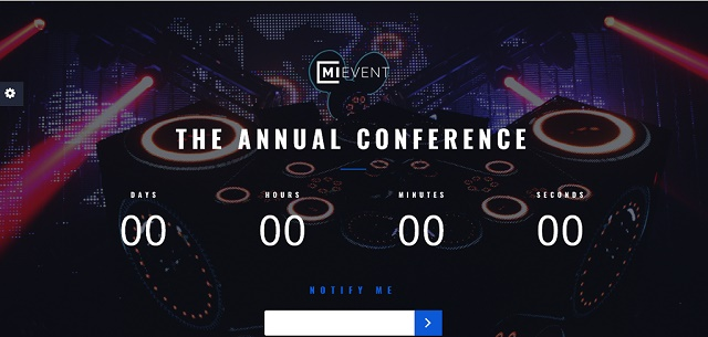 coming soon WordPress theme for events and music