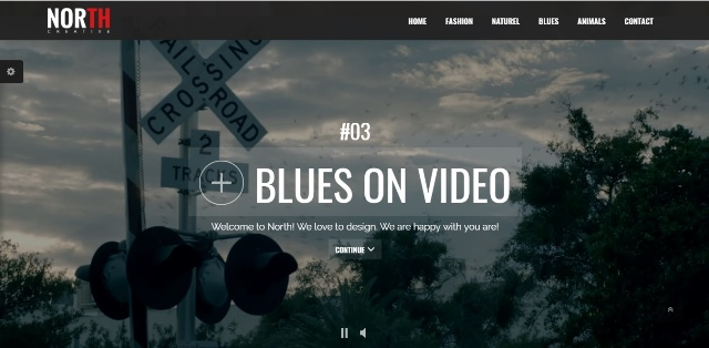 The flavourful one page WordPress theme