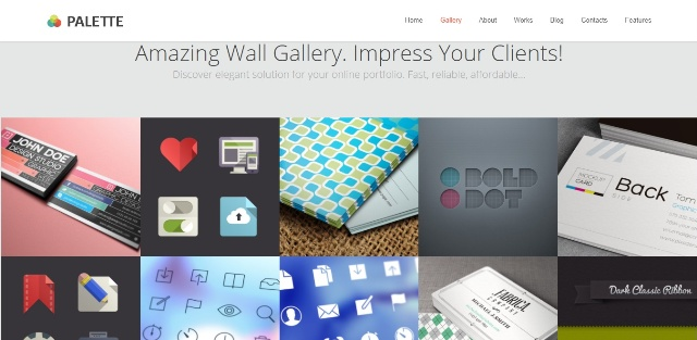 Functional one page WordPress theme