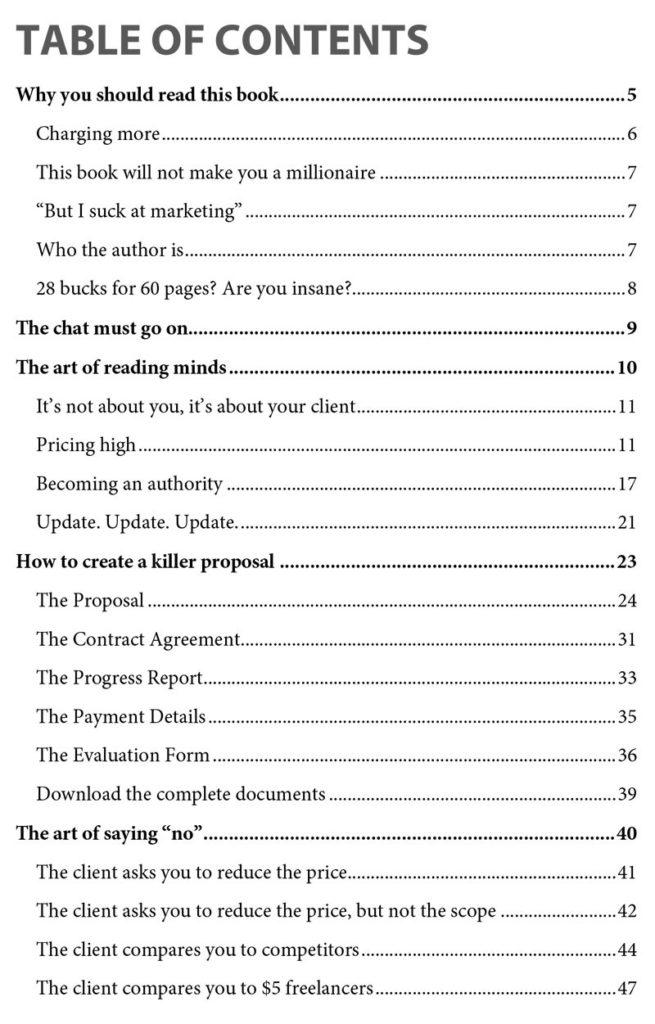 The Dark Art Of Freelancing (eBook)