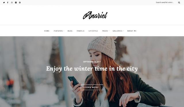 Anariel WordPress Theme