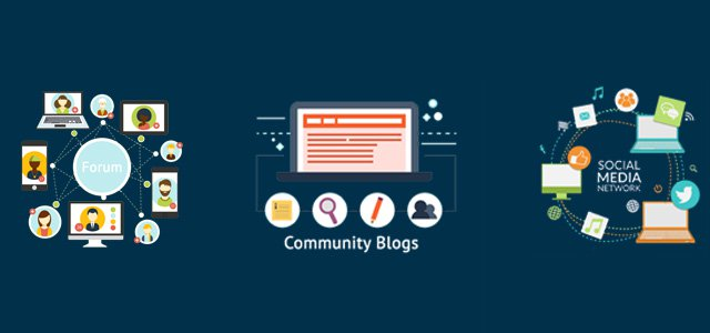 Types of community on WordPress