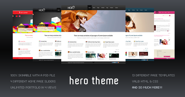 Hero Business Template