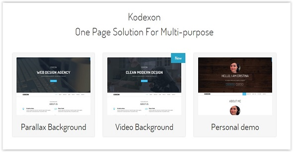 Kodexon agency Template