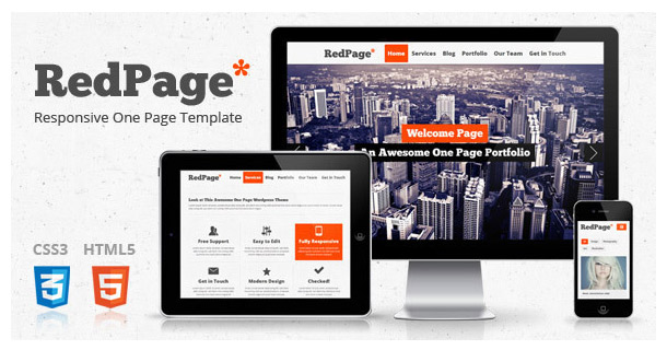RedPage Creative Template