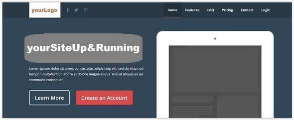SiteReady Landing Pages & Admin