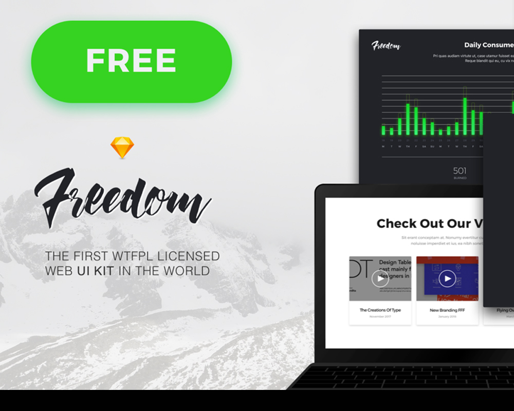 The Best Free UI Kits (2018 Edition)